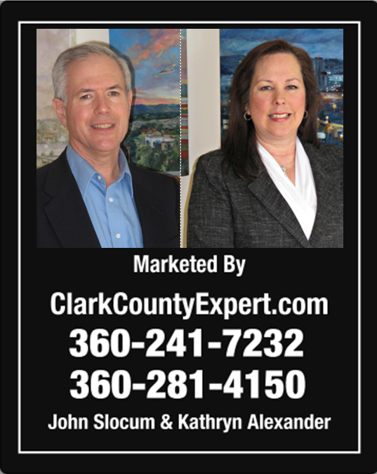 Homes For Sale Vancouver WA, with Brokers John Slocum and Kathryn Alexander of REMAX Vancouver Washington