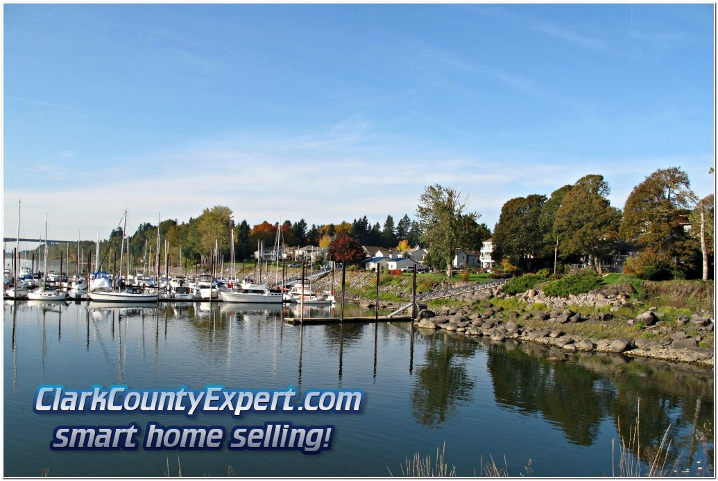 Steamboat Landing Marina and Waterfront Homes, Vancouver WA