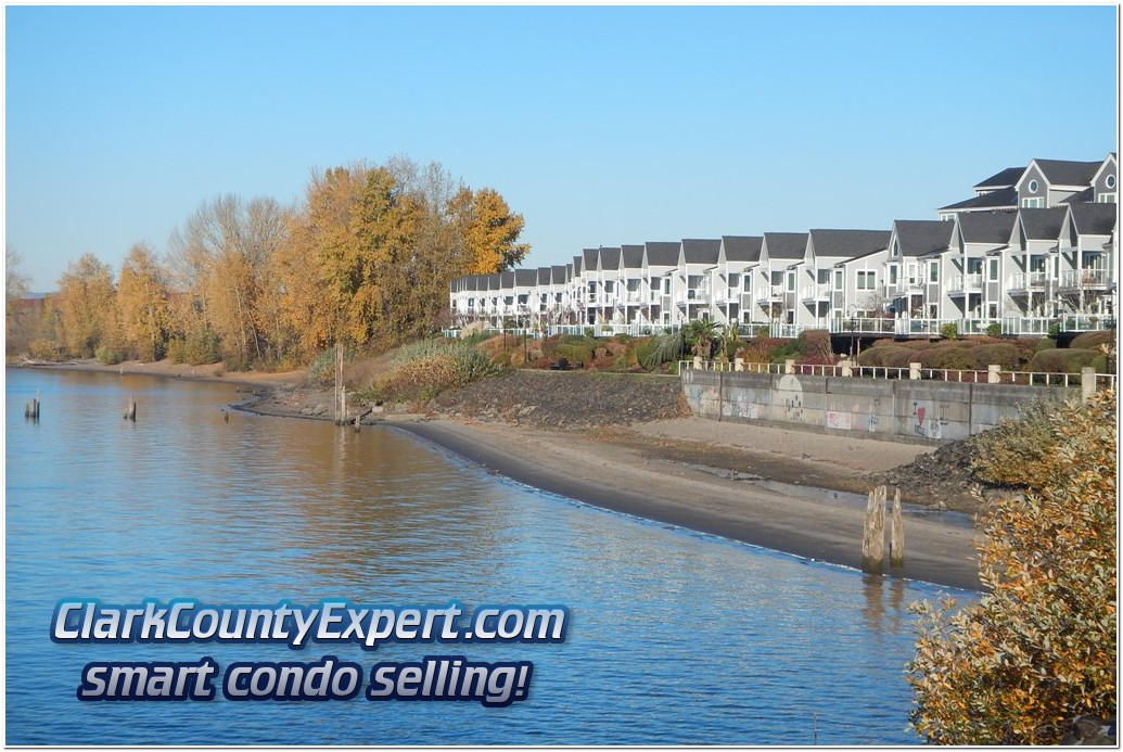 Luxury Columbia River Waterfront Condo Homes at Village at Columbia Shores, Vancouver WA